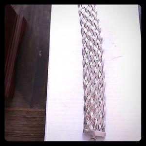 Jewelry - Sterling silver braided link bracelet